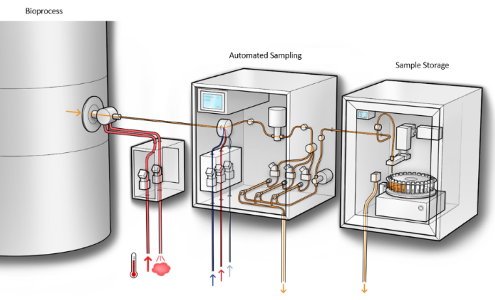 Automated aseptic sampling